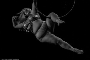 dramatic hoop